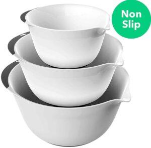 non slip plastic bowls