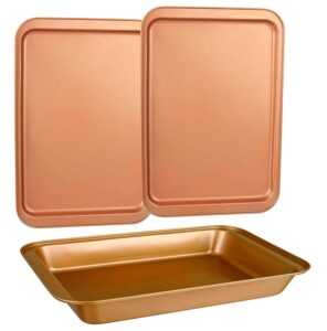 copper baking sheets and pan