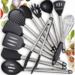 assorted kitchen utensils and tools