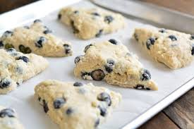 blueberry scones ready for baking