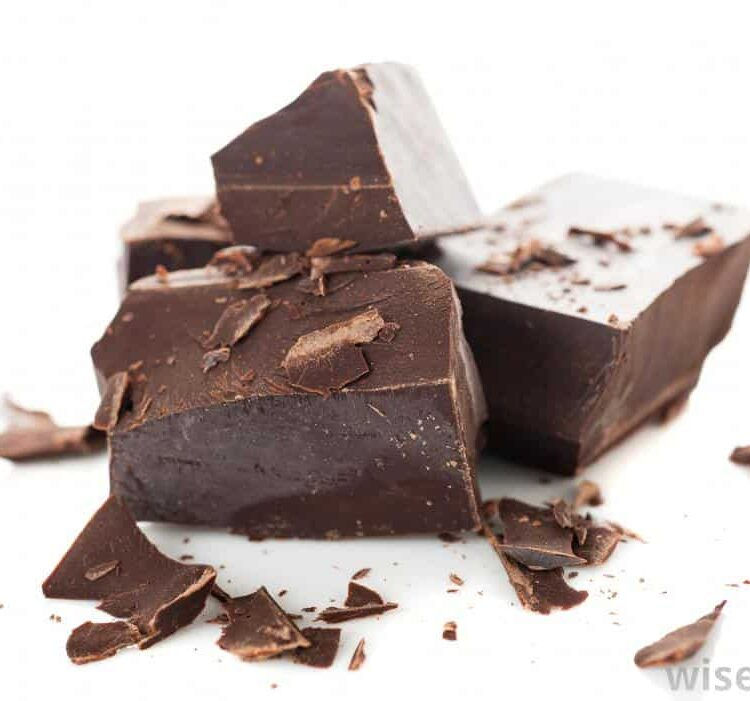 Information about the different types of chocolate used in baking.
