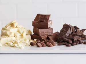 Tips to understand the different types of chocolate used in baking.