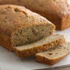 4 different zucchini bread recipes