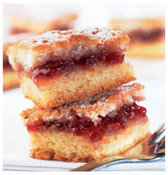 A recipe for Jam Squares