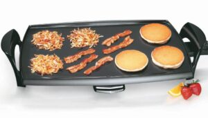 An Electric Griddle .