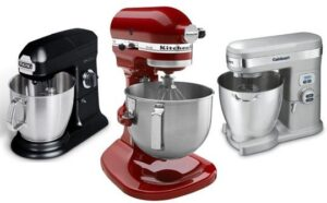 Assorted Stand Mixers.