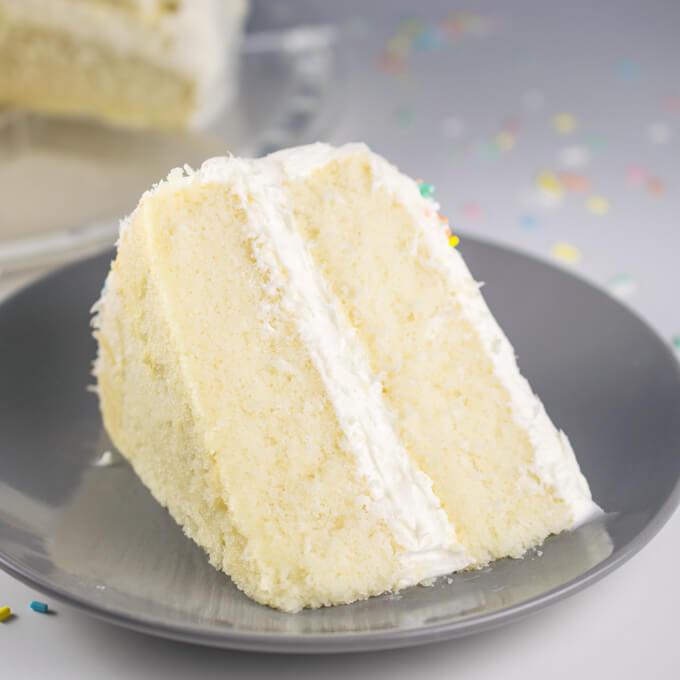 Baking A Vegan White Cake